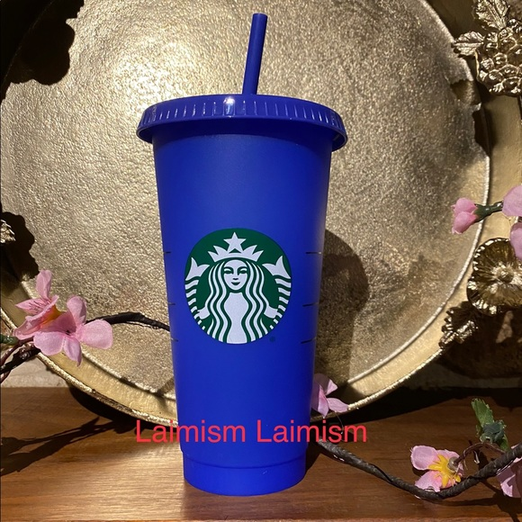 Starbucks Blue Color Changing cup